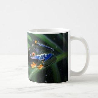 Red Eyes Frog On Leaf Coffee Mug