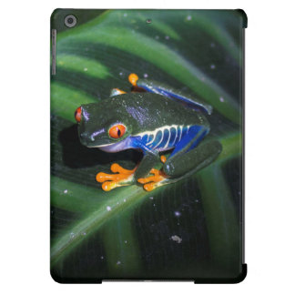 Red Eyes Frog On Leaf Cover For iPad Air
