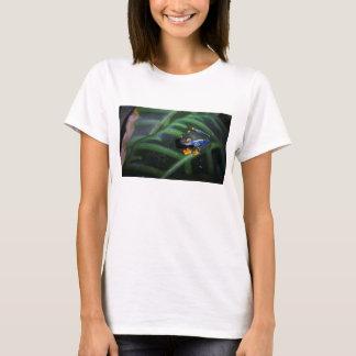 Red Eyes Frog On Leaf T-Shirt