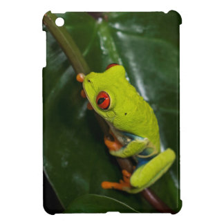 Red Eyes Frog On Stem iPad Mini Covers