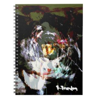 """""""Red Eyes & Tears"""" Art Notebook"""