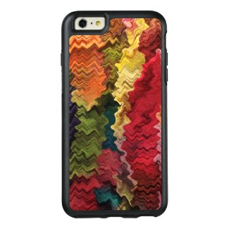 Red Fabric Abstract OtterBox iPhone 6 Plus Case