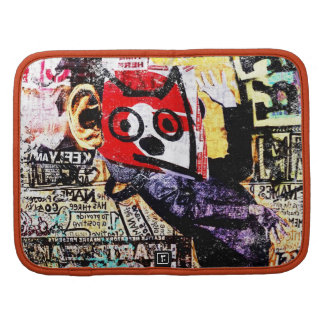 Red Face Riff Cat - Smartphone Folio Organizer
