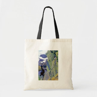 Red-faced Cormorant and Parakeet Auklet Tote Bag