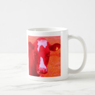 Red Faced Cows Classic White Coffee Mug