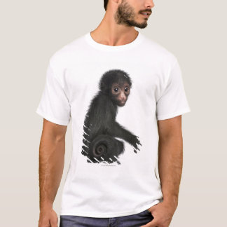 Red-faced Spider Monkey - Ateles paniscus (3 T-Shirt