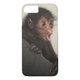 Red-faced Spider Monkey Ateles paniscus) iPhone 7 Case