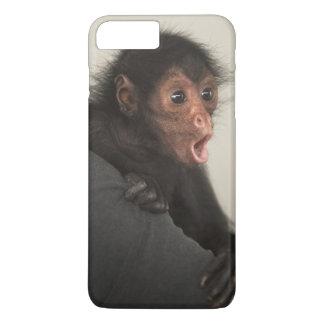 Red-faced Spider Monkey Ateles paniscus) iPhone 7 Plus Case