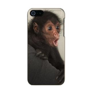 Red-faced Spider Monkey Ateles paniscus) Metallic iPhone SE/5/5s Case