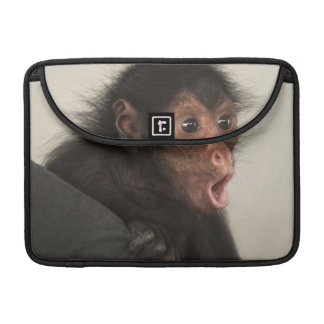 Red-faced Spider Monkey Ateles paniscus) Sleeve For MacBook Pro