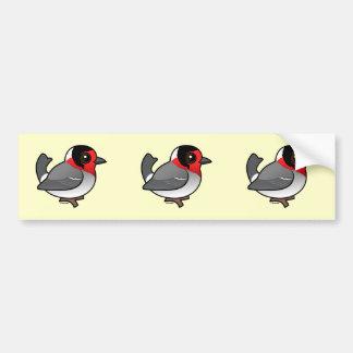 Red-faced Warbler Bumper Sticker