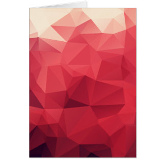 Red Facets of Wine Colors Card