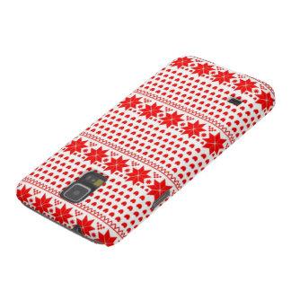 Red Fairisle Pattern Galaxy Nexus Covers