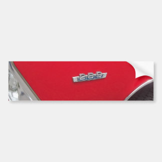 Red fairlane 289 side marker with red paint bumper sticker