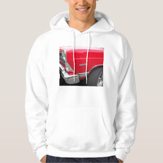 Red fairlane 289 side marker with red paint hoodie