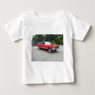 Red fairlane 289 sweet ride with racing wheels baby T-Shirt