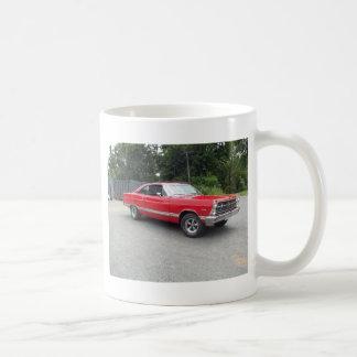 Red fairlane 289 sweet ride with racing wheels coffee mug