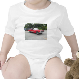 Red fairlane 289 sweet ride with racing wheels t shirt