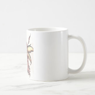 red fairy coffee mug