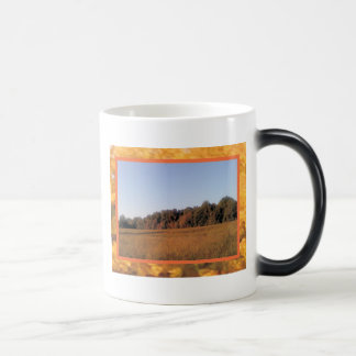 Red Fall 11 Oz Magic Heat Color-Changing Coffee Mug