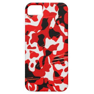Red Fallout Camo (AOM Design) iPhone SE/5/5s Case