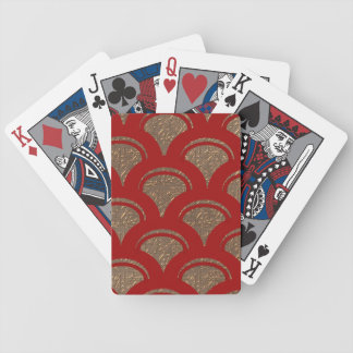 red fan bicycle playing cards
