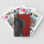 Red Fan Card Decks