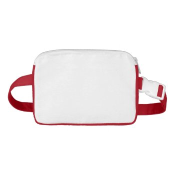 Red Fanny Pack Purse by CREATIVESPORTS at Zazzle