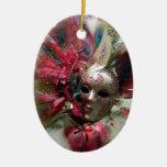 Red Fantasy Angel Ornament