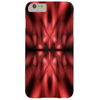 Red fantasy pattern barely there iPhone 6 plus case