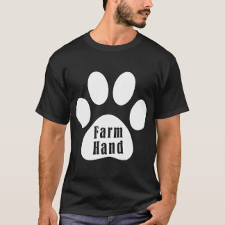 Red Farm Hand Dog Country Dog Zack _ Zoey farm T-Shirt