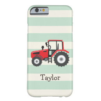 Red Farm Tractor Barely There iPhone 6 Case