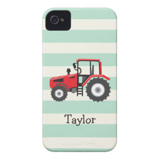 Red Farm Tractor iPhone 4 Covers