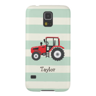 Red Farm Tractor Case For Galaxy S5