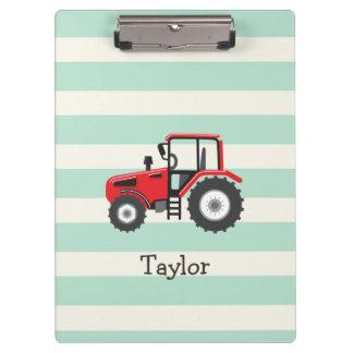 Red Farm Tractor Clipboard