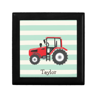 Red Farm Tractor Gift Box