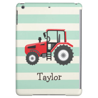 Red Farm Tractor iPad Air Cases