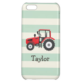 Red Farm Tractor Case For iPhone 5C
