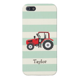 Red Farm Tractor Case For iPhone 5/5S