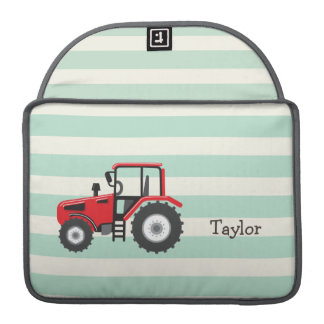 Red Farm Tractor MacBook Pro Sleeves