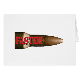 red faster bullet card