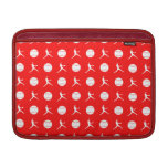 Red Fastpitch MacBook Air Sleeve