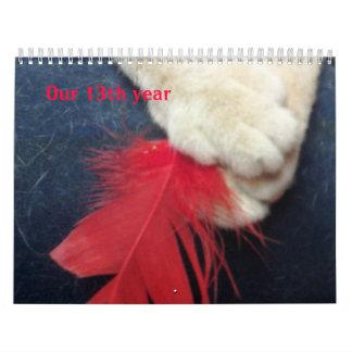 Red Feather Art Cats Calendar