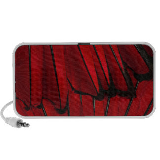 Red Feathers Travelling Speakers
