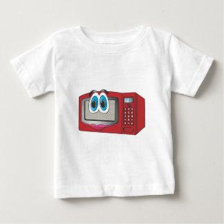 Red Female Cartoon Microwave Baby T-Shirt