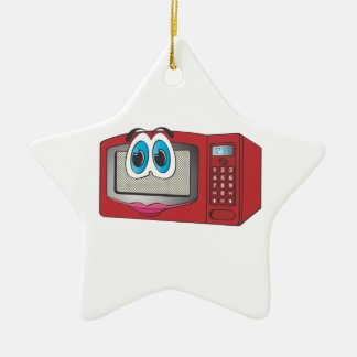 Red Female Cartoon Microwave Christmas Tree Ornament