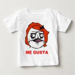 Red Female Me Gusta Comic Rage Face Meme T Shirts