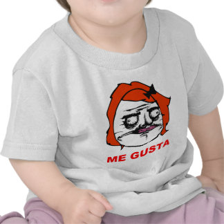 Red Female Me Gusta Comic Rage Face Meme T-shirt