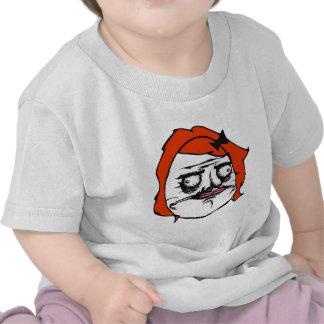Red Female Me Gusta Comic Rage Face Meme T Shirt