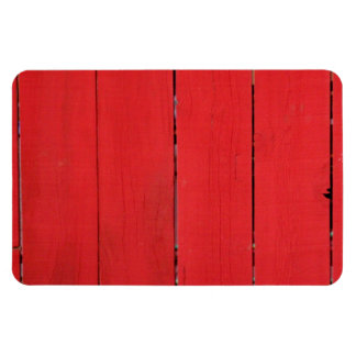 Red Fence Magnet